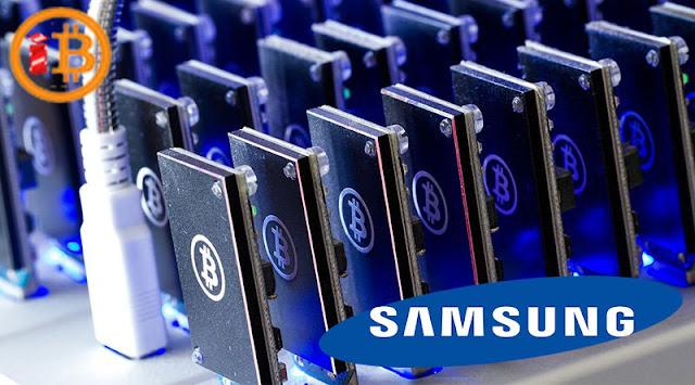 Samsung Membuat Chip Khusus Untuk Bitcoin