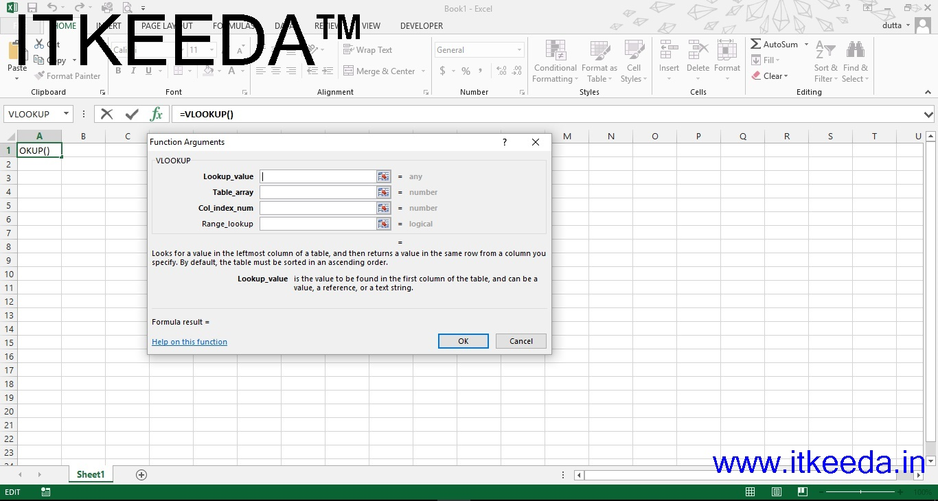 Learn Vlookup Formula In Excel In hindi audio 1