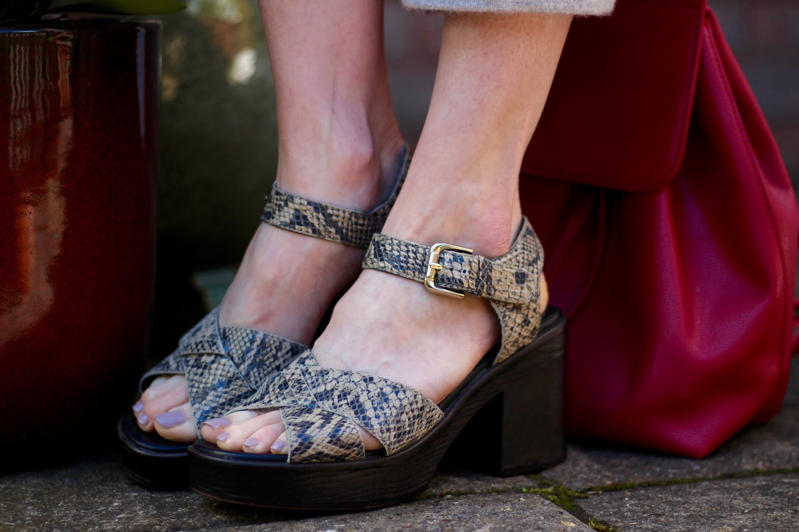 Chunky Vagabond Sandals | Fake Fabulous