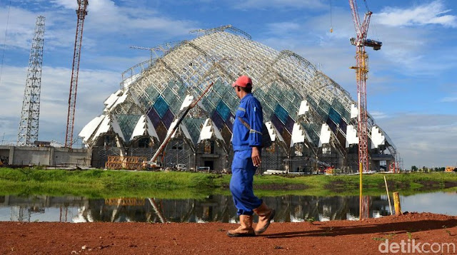 Pembangunan Masjid Al-Jabbar Danau Raksasa Gedebage Ditargetkan Selesai 2020