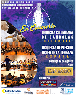 POSTER Concierto de Cuerdas Colombianas y Españolas
