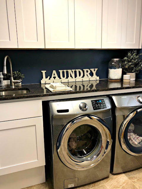 Laundry Room Reno Reveal