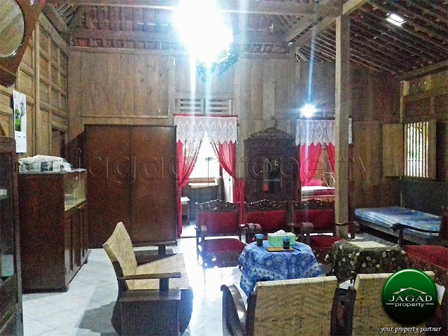 Rumah Etnik di Wedomartani Sleman