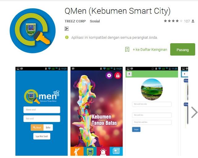 Qmen, 'Smart City'nya Kebumen