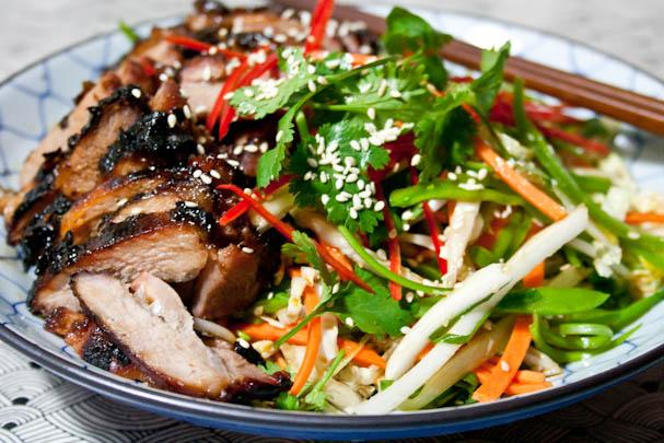 Asian Slaw Dressing Recipe Veg Kitchen