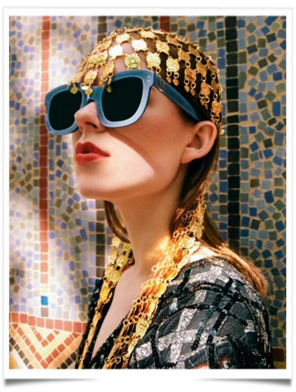 Emmanuelle Khanh, maison fondée en 1969, qui est devenue célèbre pour ses  lunettes audacieuses au style seventies, la maison revient dans le  prêt-à-porter ... 40975fbb2c74