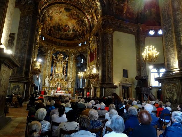 Mass service Parma, Italy
