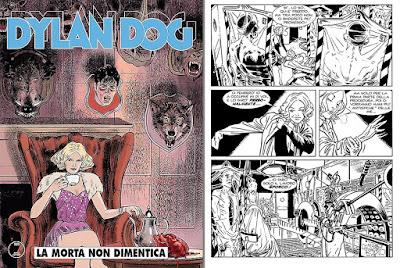 Dylan Dog #349 - La morta non dimentica