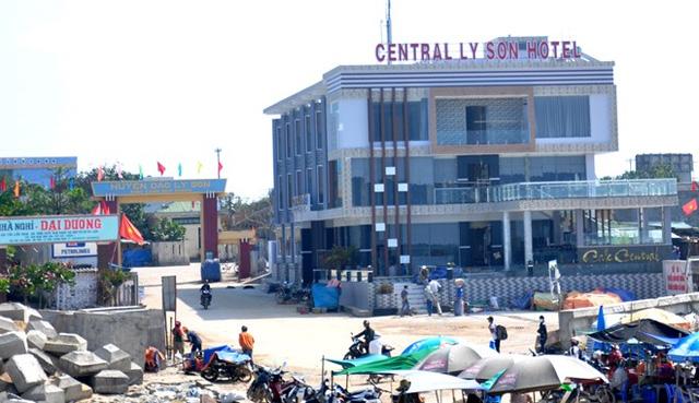 Khách sạn tại huyện đảo Lý Sơn