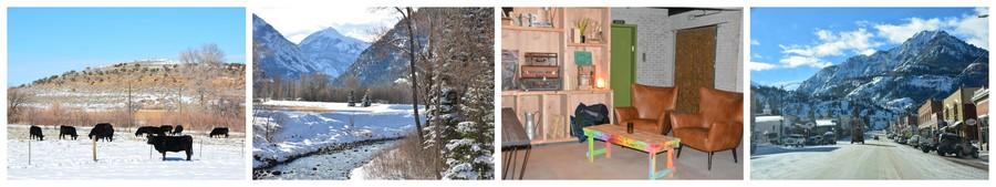 Ambiance hivernale au Colorado