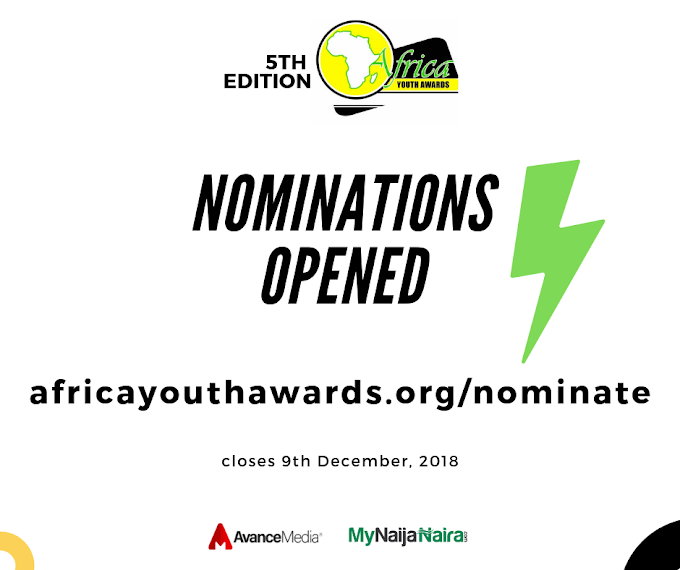 Nominations open for 2018 Africa Youth Awards