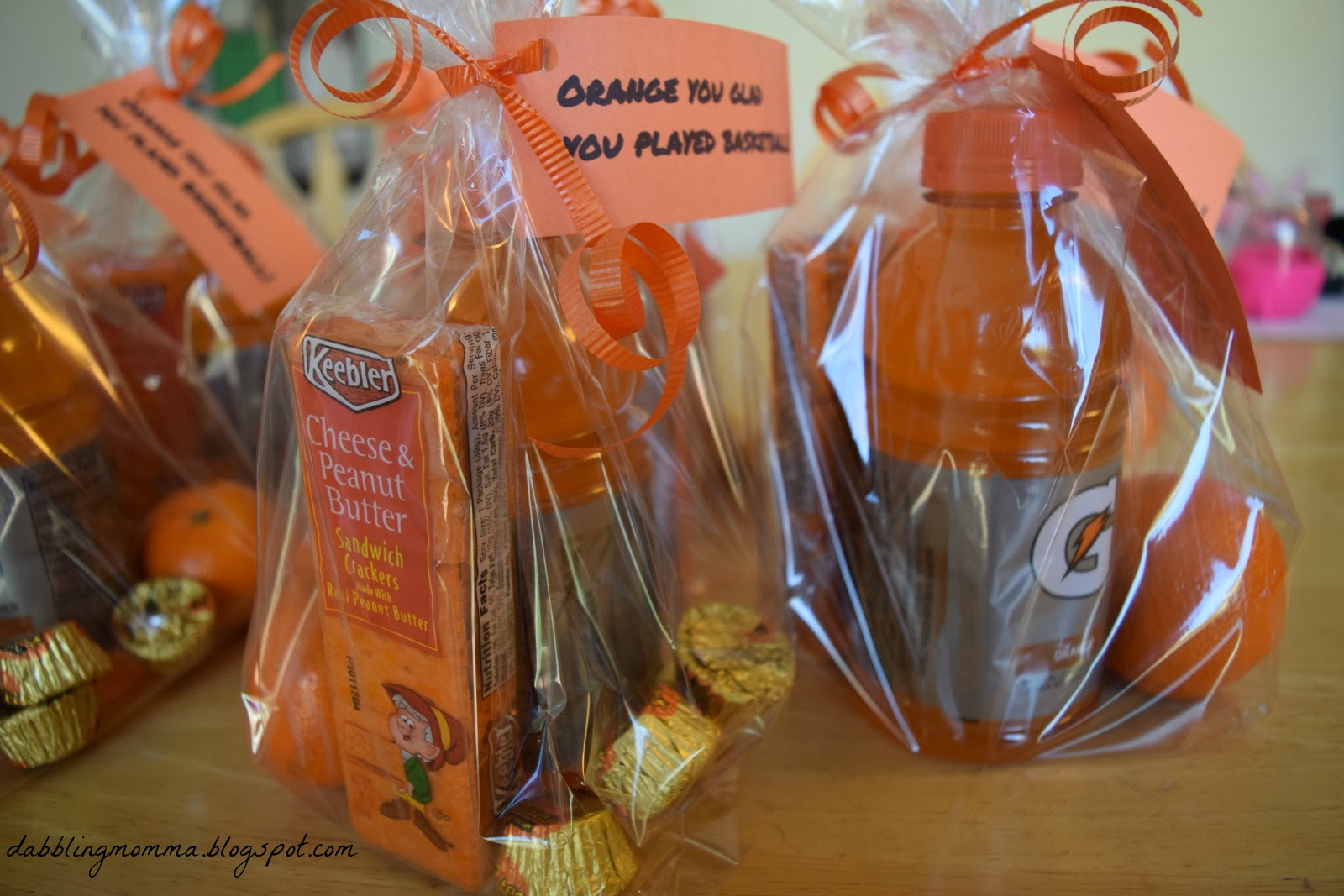 Each Coach Was Given A Gift Card But To Spruce It Up Bit I Added Printable And Candy Bar The Bags