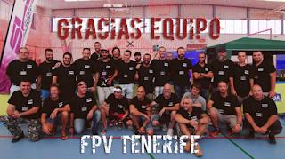 Vídeos resumen de la 1a carrera de drones de Canarias durante el Candelaria Drone Festival 2017