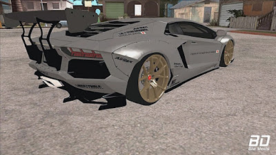 Download mod carro Lamborghini Aventador Liberty Walk 2012 para GTA San Andreas, GTA SA JOGO PC