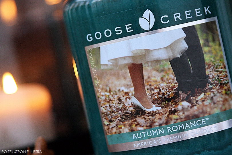 etykieta autumn romance goose creek candle