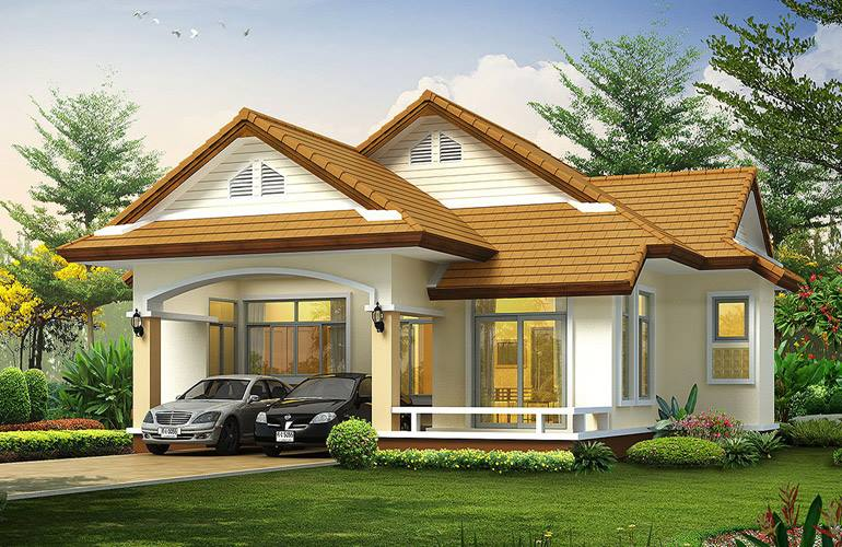 25 tiny beautiful house very small house for Small house exterior design philippines
