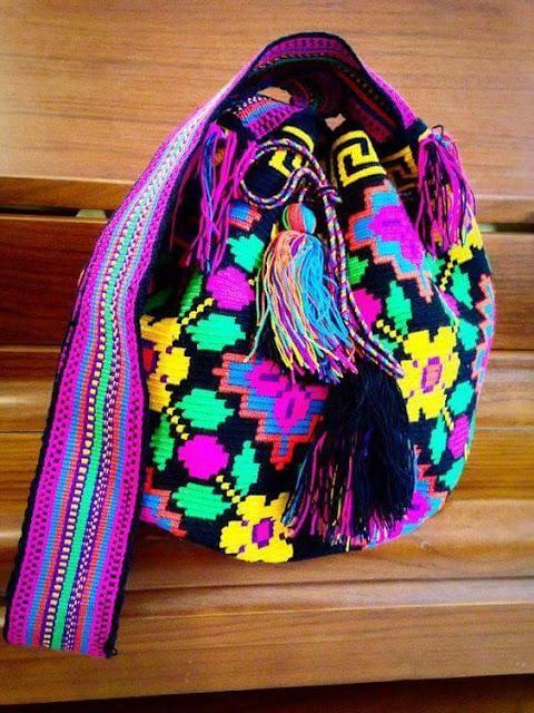 Patrón #1648: Mochila Wayuu