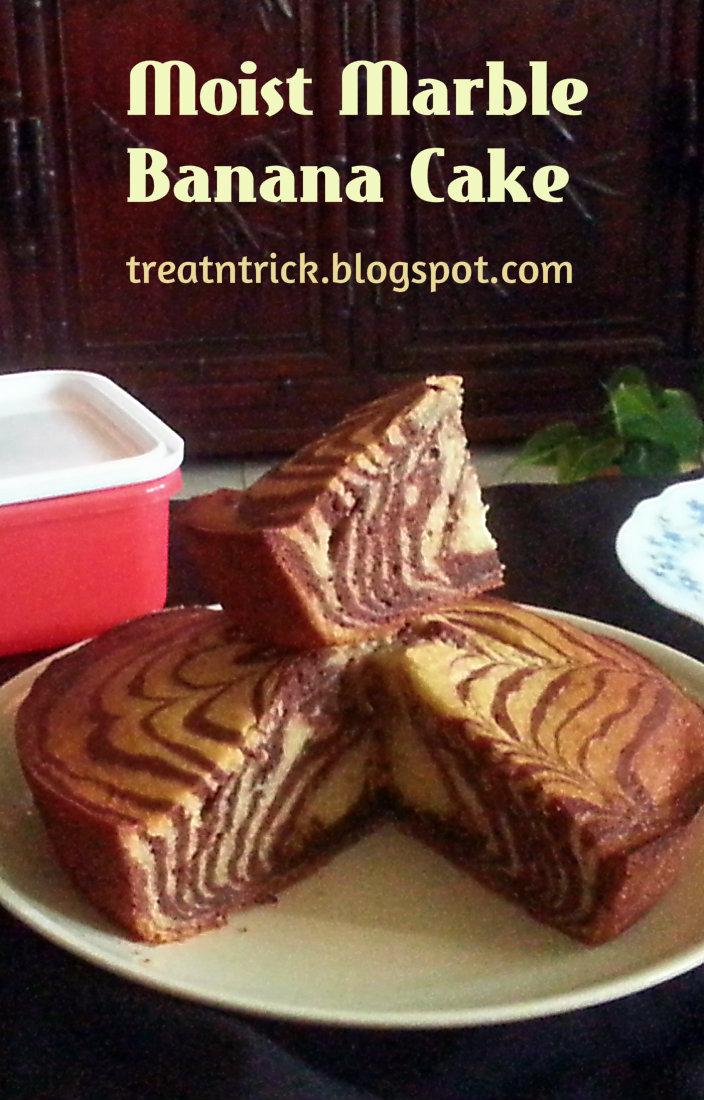 Treat trick moist marble banana cake moist marble banana cake recipe treatntrickspot forumfinder Choice Image