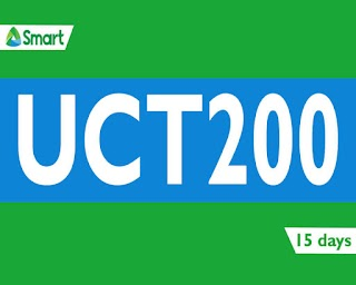 Smart UCT200 – 700MB Data, Unli Call to PLDT, Smart/Sun/TNT + All Net texts