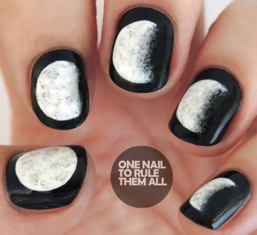 Moon Phase Nail Art Essentials