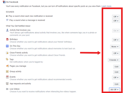 How to Stop Notification on Facebook