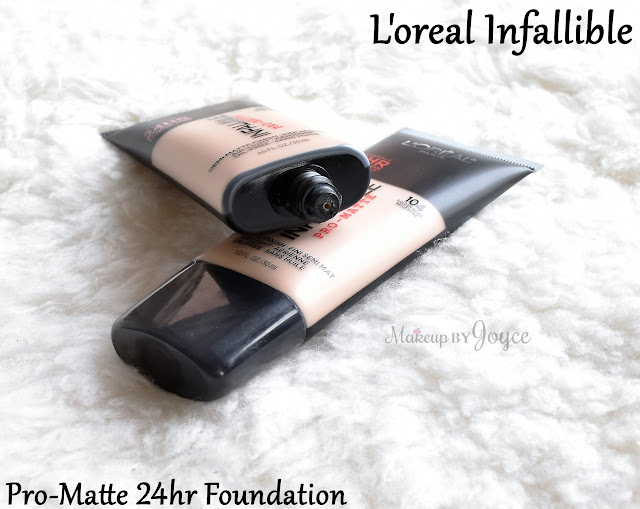L'oreal Infallible Pro-Matte 24hr Foundation 104 Golden Beige Review