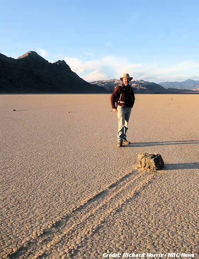 Scientists Unravel Mystery of Death Valley's Moving Rocks