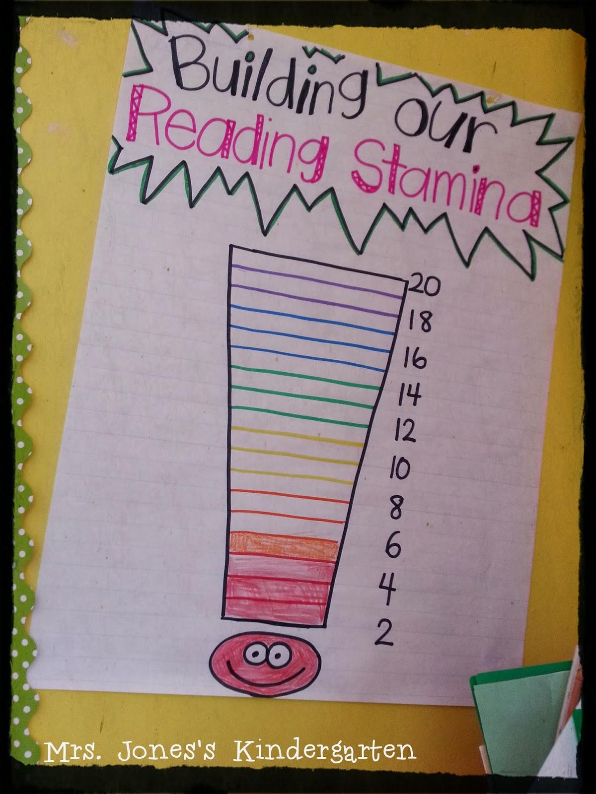 Kinder Garden: Building Reading Stamina In Kindergarten!