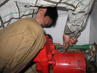 Sửa máy bơm nước không vào điện tại Hà Nội