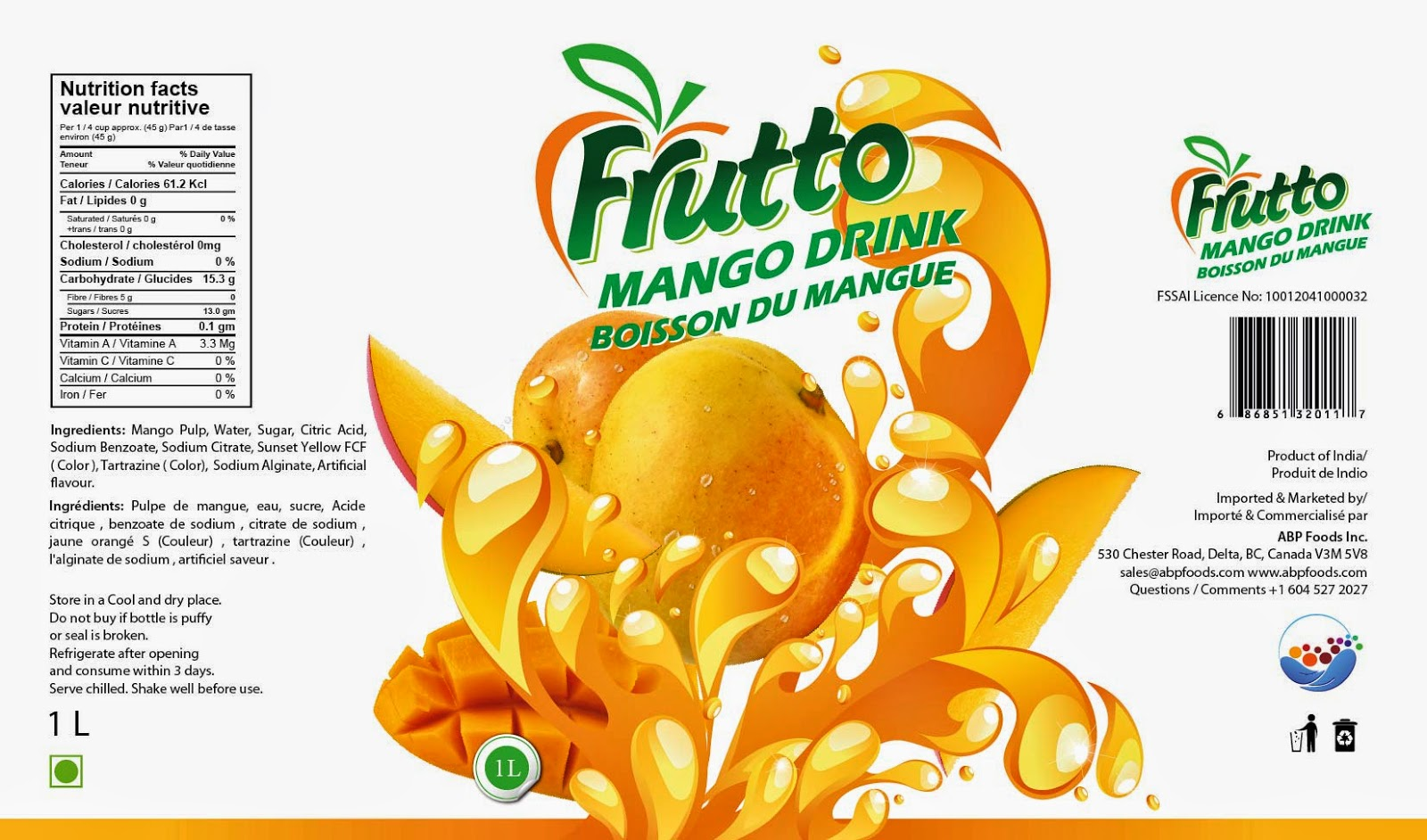 Mango Design Package Designs Print Graphics