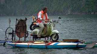 Top Gear en Vietnam bahia de Halong en barco