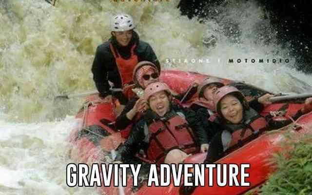 Rafting di Bandung Gravity Adventure