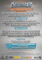Deleste Festival 2016, cartel por días