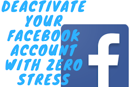 See how to Deactivate your FB account with zero stress #DeactivateFacebook