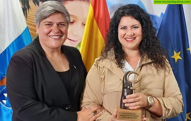 El Ayuntamiento de Los Llanos de Aridane felicita al CEIP La Laguna por la obtención del premio al mejor proyecto educativo sobre Igualdad de Canarias