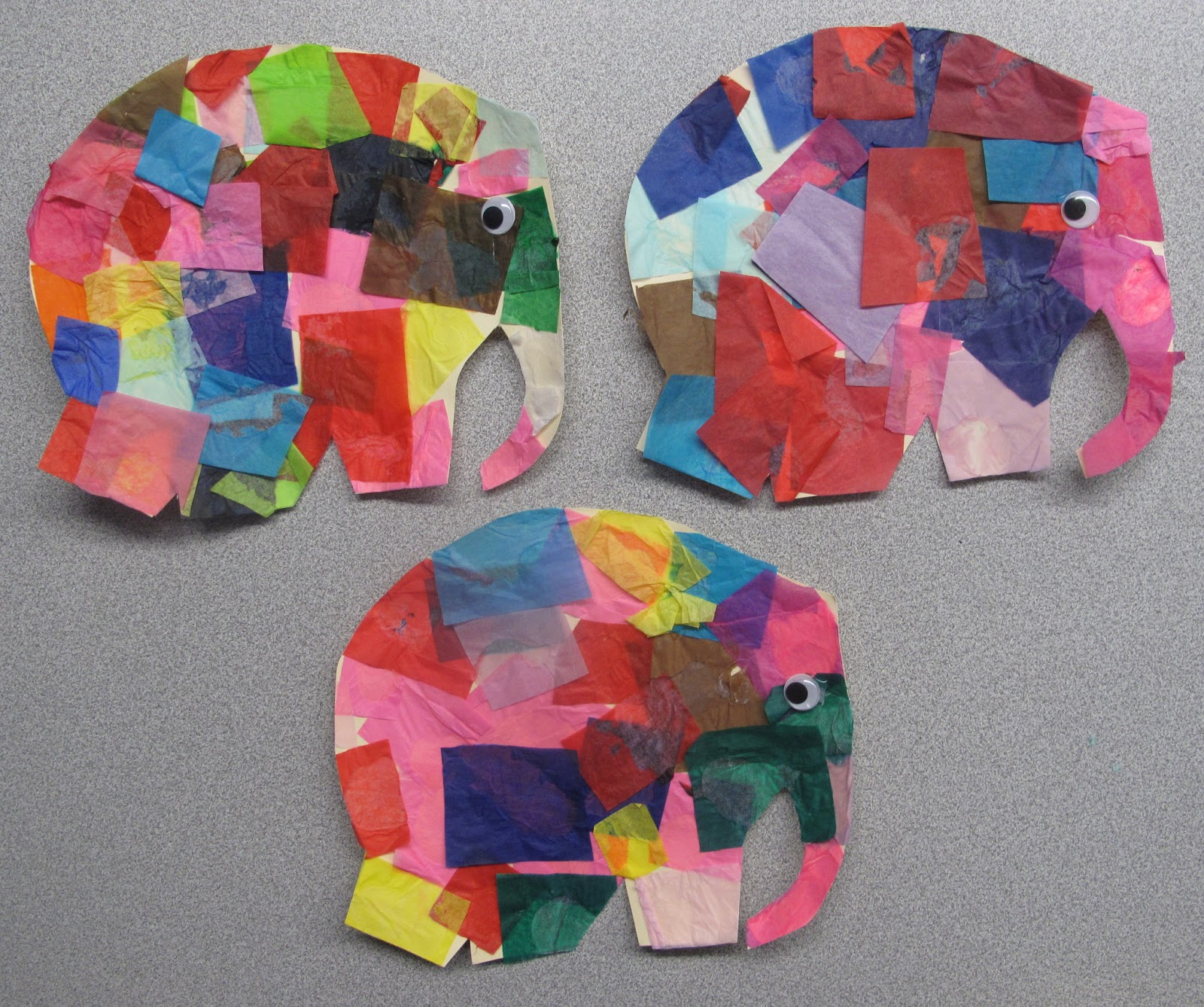 Metamora Community Preschool Elmer The Elephant