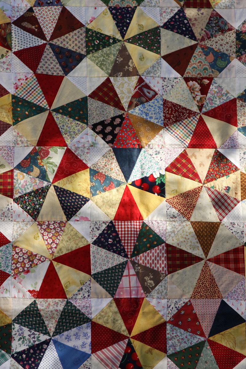 A Kaleidoscope Of Uncompromising Design Ideas By Gestalten: Kaleidoscope Quilt Top