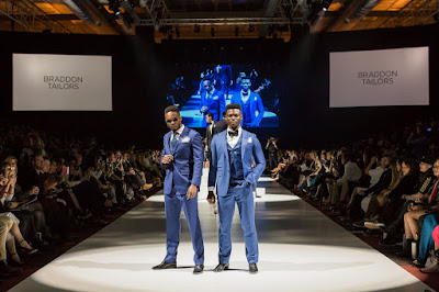 Braddon Tailors on the runway