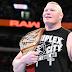 Brock Lesnar ganhando o Universal Championship no Crown Jewel?