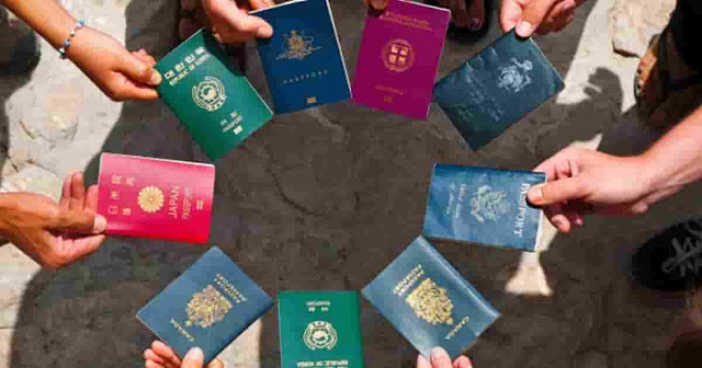 WHICH COLOR PASSPORT YOUR COUNTRY USE