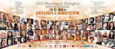 Rivismo en Shanghai Pudong Library. Obras de Ramón Rivas en el IV Meeting in Shanghai