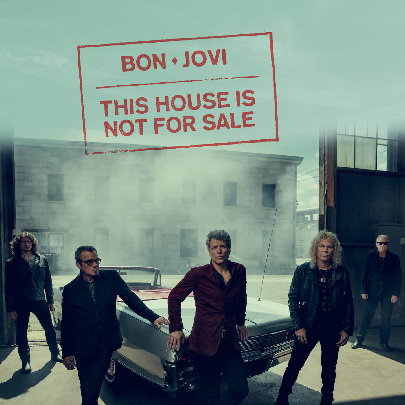 Bon Jovi - This House Is Not for Sale - Single Cover