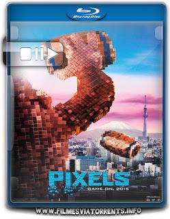 Pixels Torrent - BluRay Rip 720p e 1080p Dublado 5.1