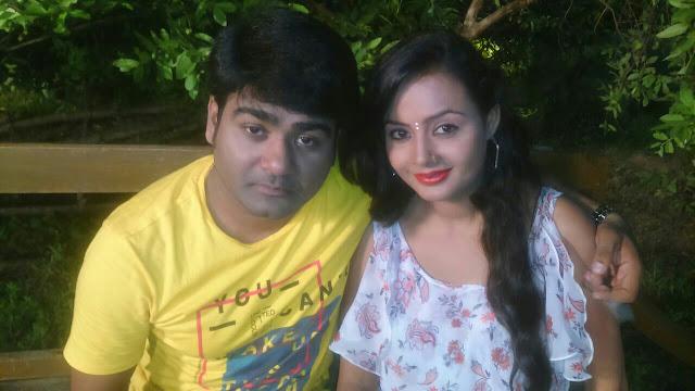 Alok Kumar and Nisha Singh in Film Bhojpuria Sultan