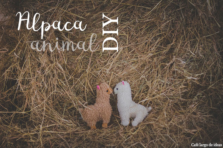 DIY alpaca animal