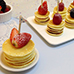 Breakfast Pancakes with fruit