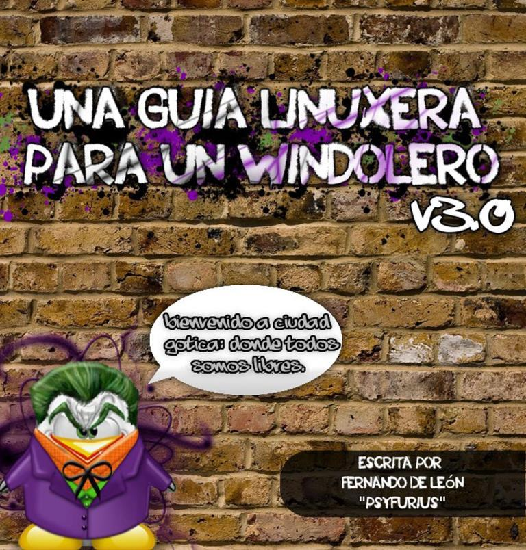 Una guía linuxera para un windolero v.3 – Fernando De León