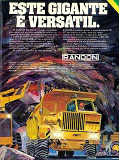 propaganda Anúncio Randon RK-424 - 1977, propaganda carrocerias Randon - 1977, Randon S. A. Veículos e Implementos, Carrocerias Randon anos 70, Randon década de 70, Oswaldo Hernandez, caminhão anos 70,