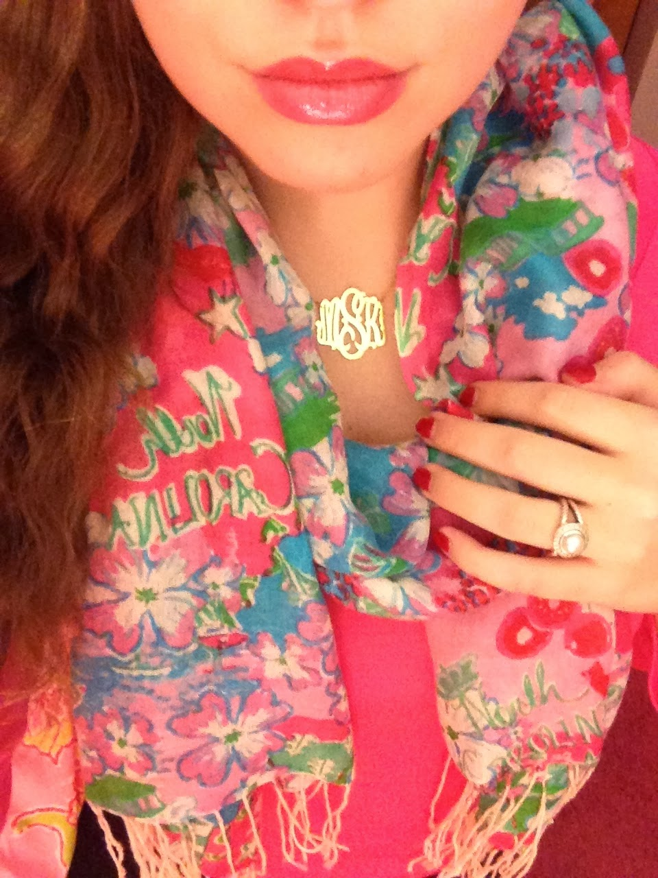 North Carolina Belle Monogram Monday and Lilly Pulitzer