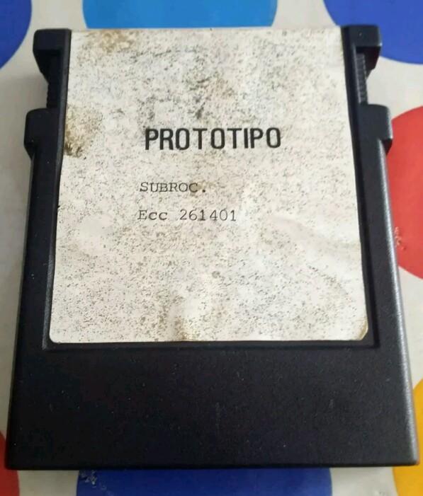 Prototipo Subrock ColecoVision